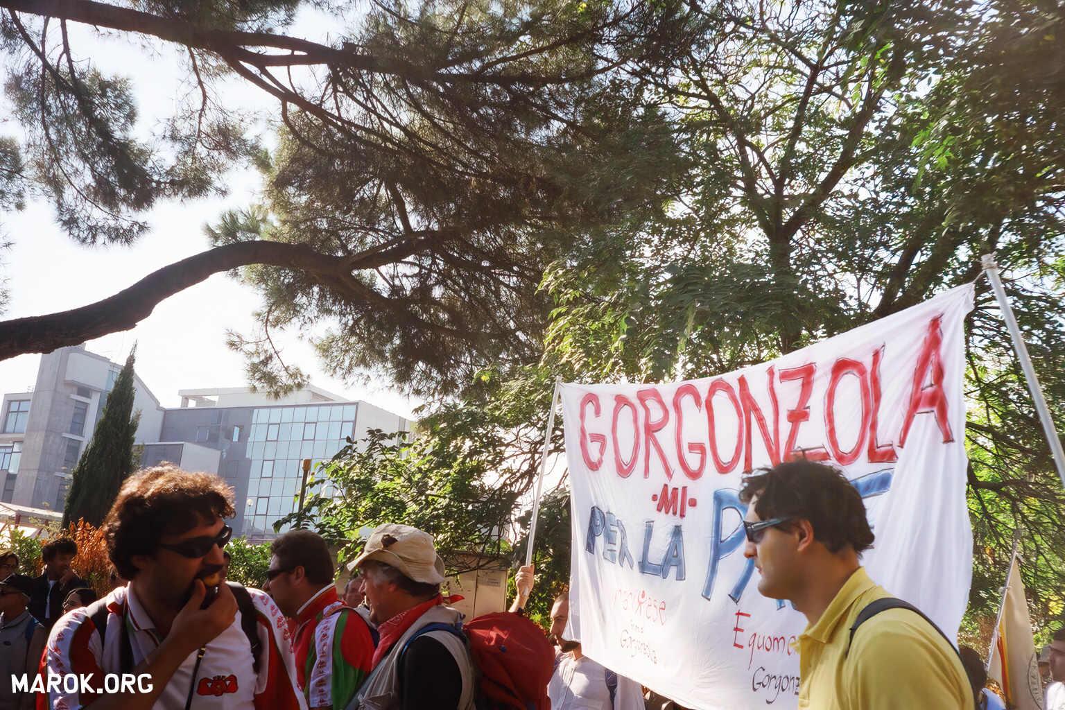Gorgonzola per la pace