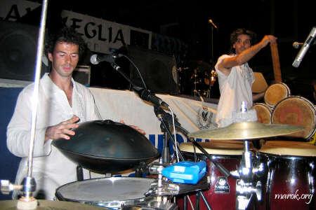 Jacopo Pellegrini e Roberto Quagliarella