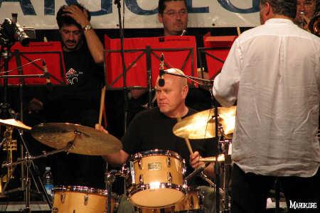 Roberto Gatto all'opera