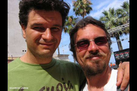 Roberto Carnevale meets Dottor Marok