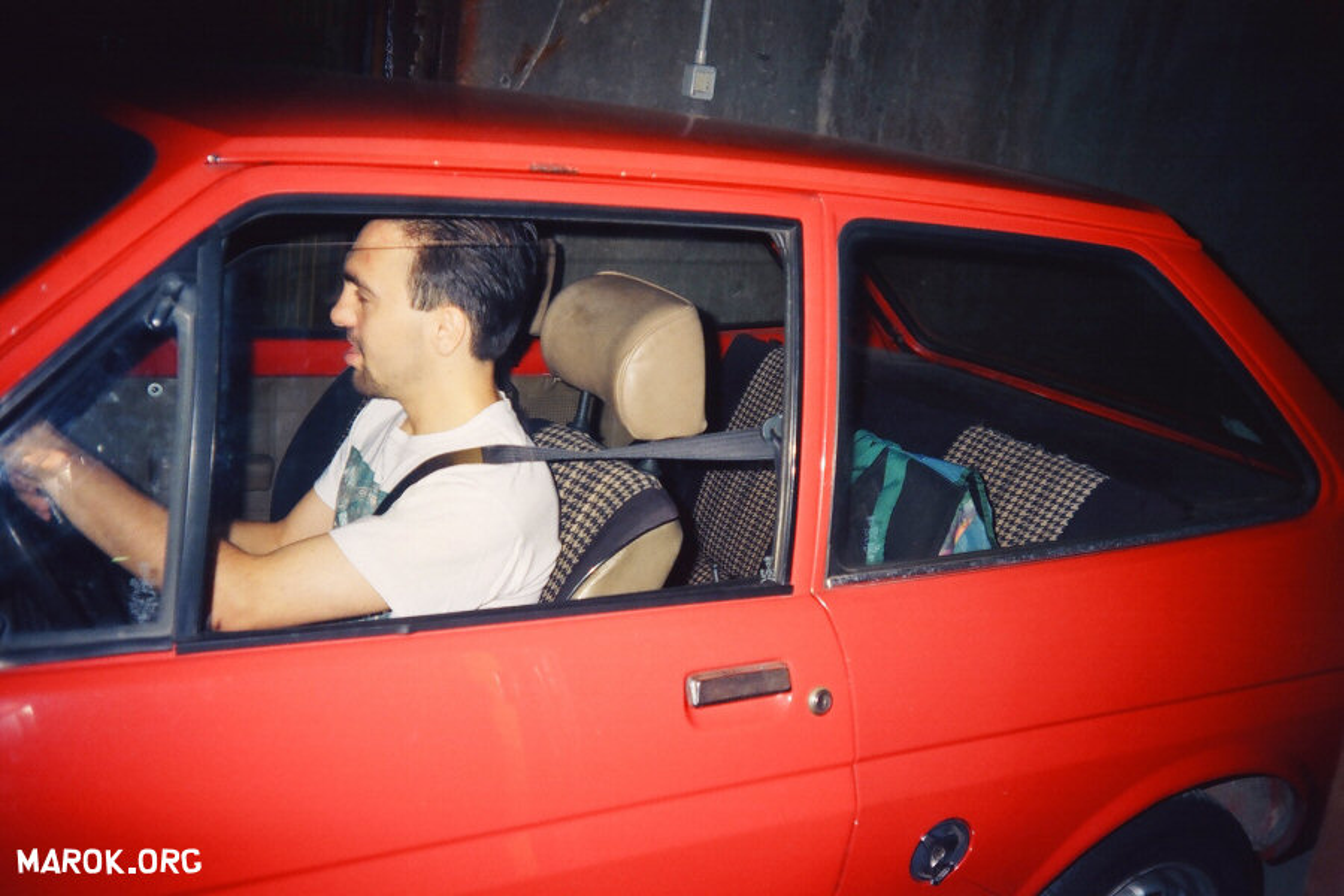 Ford Fiesta rossa