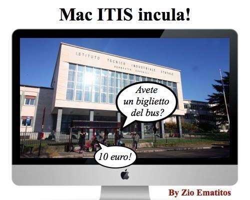 Mac ITIS incula
