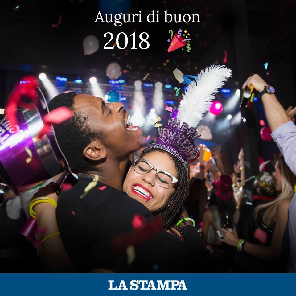 Buon 2018 da La Stampa!