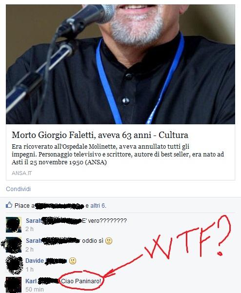 Giorgio Faletti Paninaro