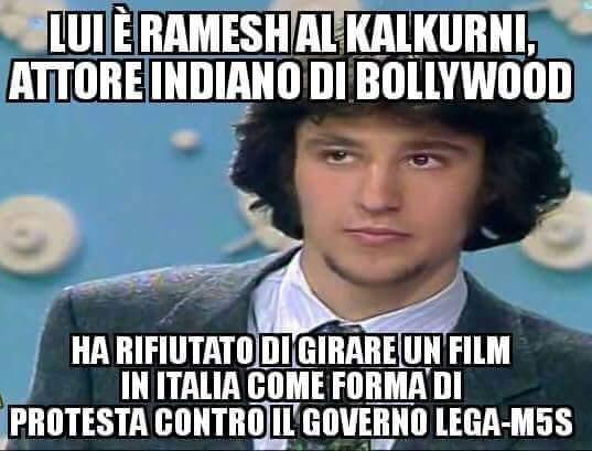 Matteo Salvini attore indiano di Bollywood
