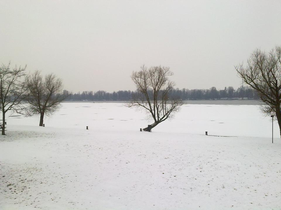 Neve a Mantova
