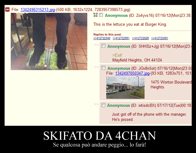 4chan: don't fuck with food