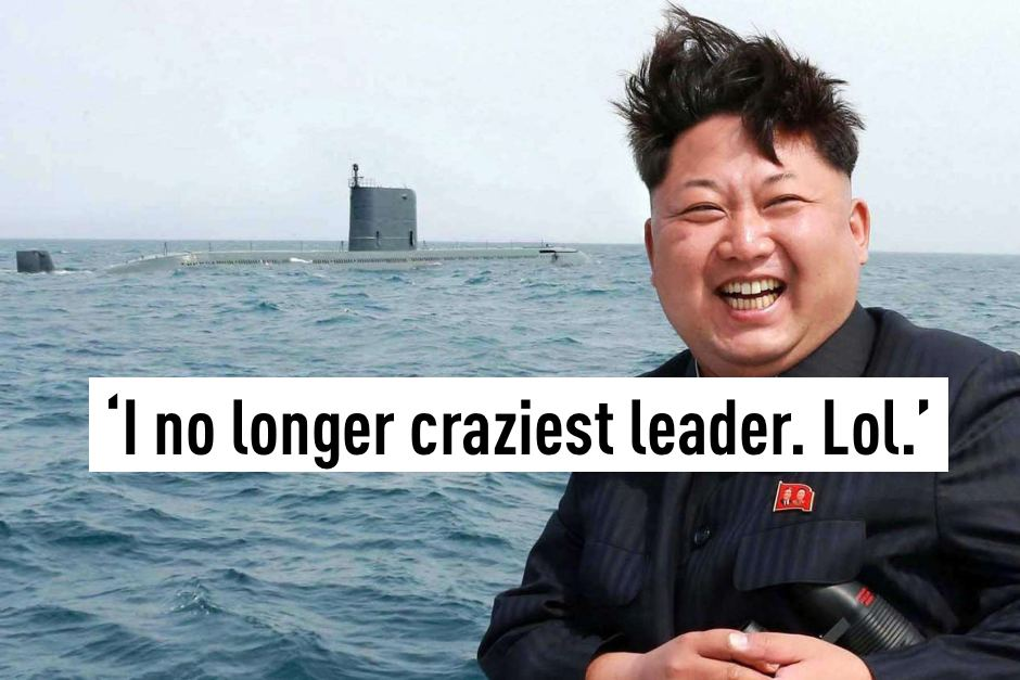 I no longest craziest leader. Lol.