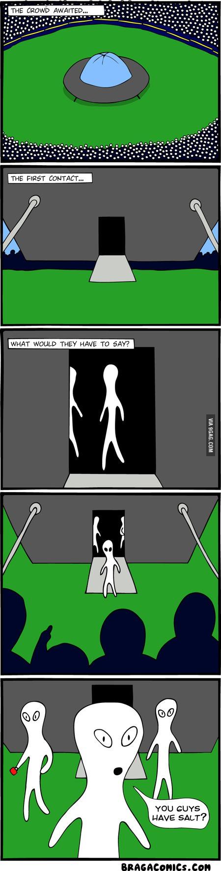 Aliens: You guys have salt?