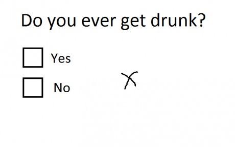 Drunk quiz