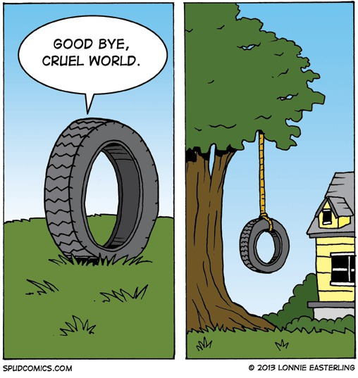 Good bye cruel word