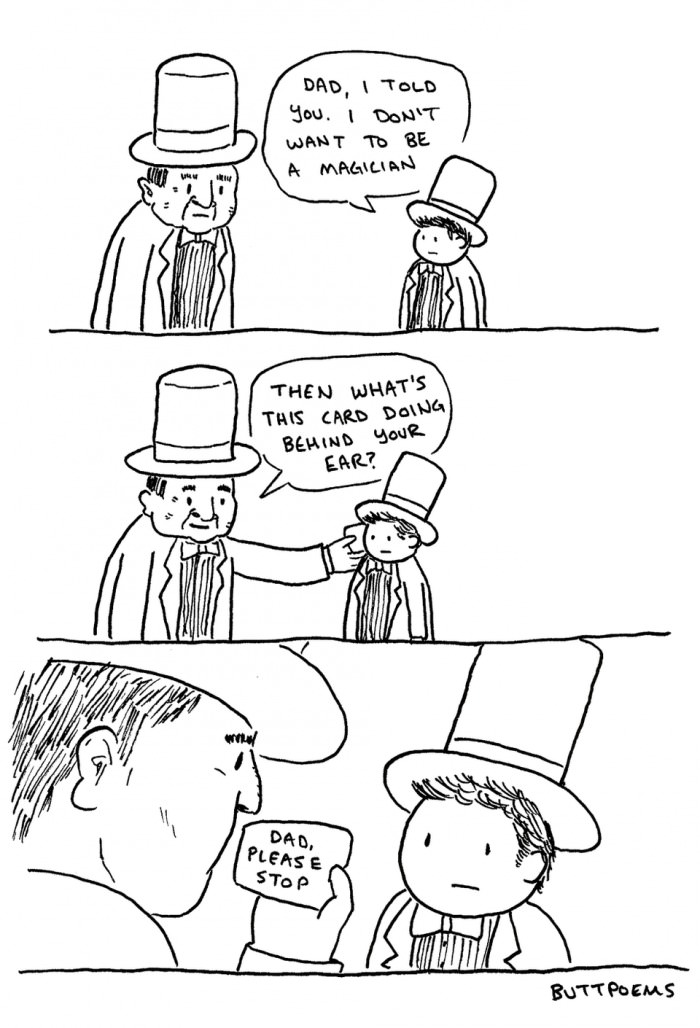 I don't want to be a magician!