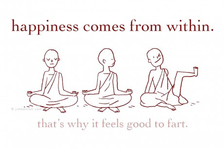 Happiness fart