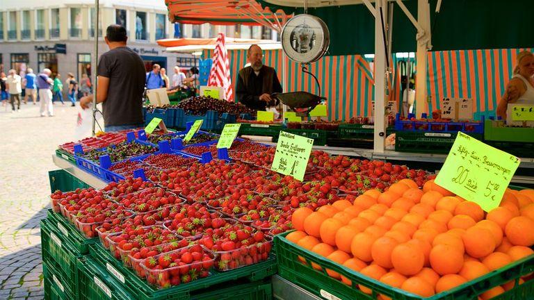 Al mercato di Bonn