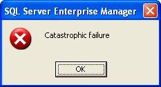 catastrofe!!!