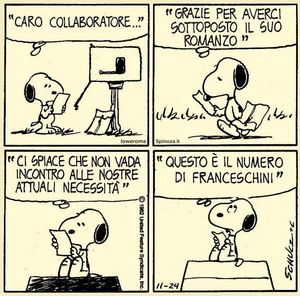 Il romanzo di Snoopy