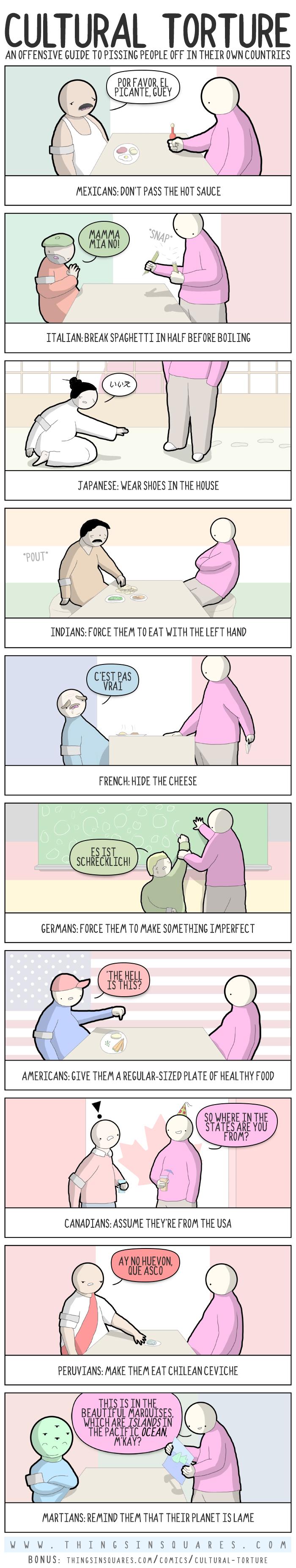 Cultural Torture Comics