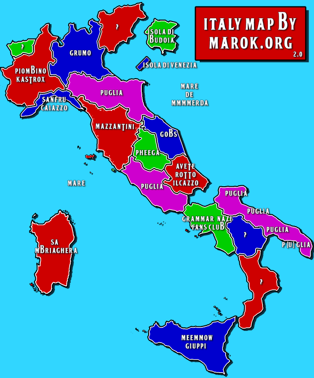 Italy Map by Marok.org - 2.0