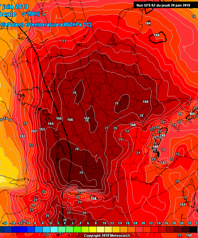 Death heat wave in France