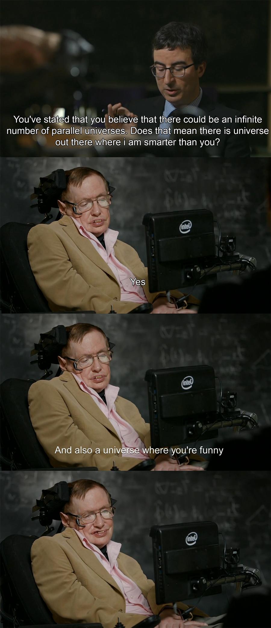 Steven Hawking blasta la gggente