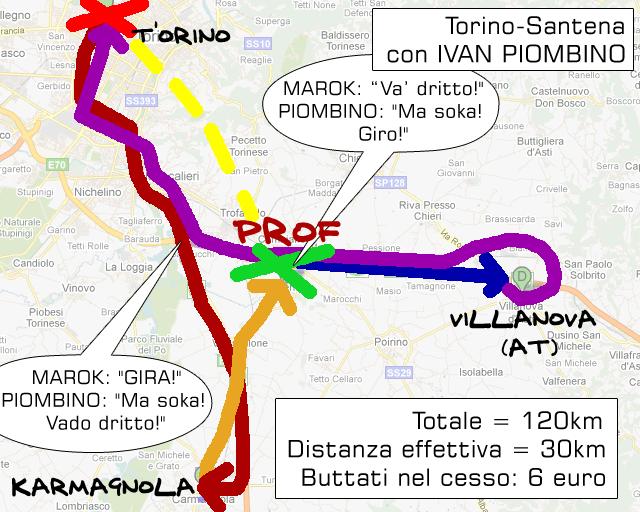 Torino-Santena con Ivan Piombino