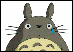 Totoro cry