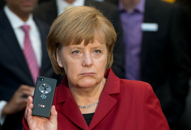 Merkel is not amused