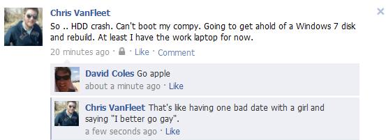 I'd better go apple