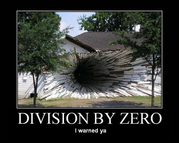 Don't divide by zero