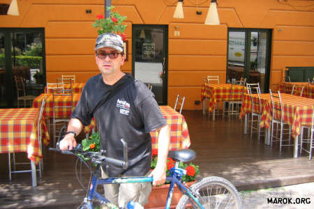 Il ciclista obliquo